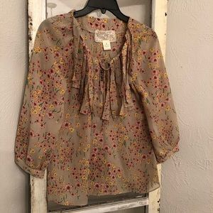 Anthropologie Nick & Mo Blouse Size Small